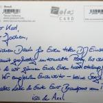 Einhorn Oppenweiler - Feedback Isa und Axel
