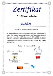 DJ-Führerschein