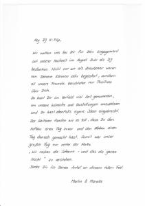 Weingut Kurz-Wagner Talheim - Feedback Mareike und Martin